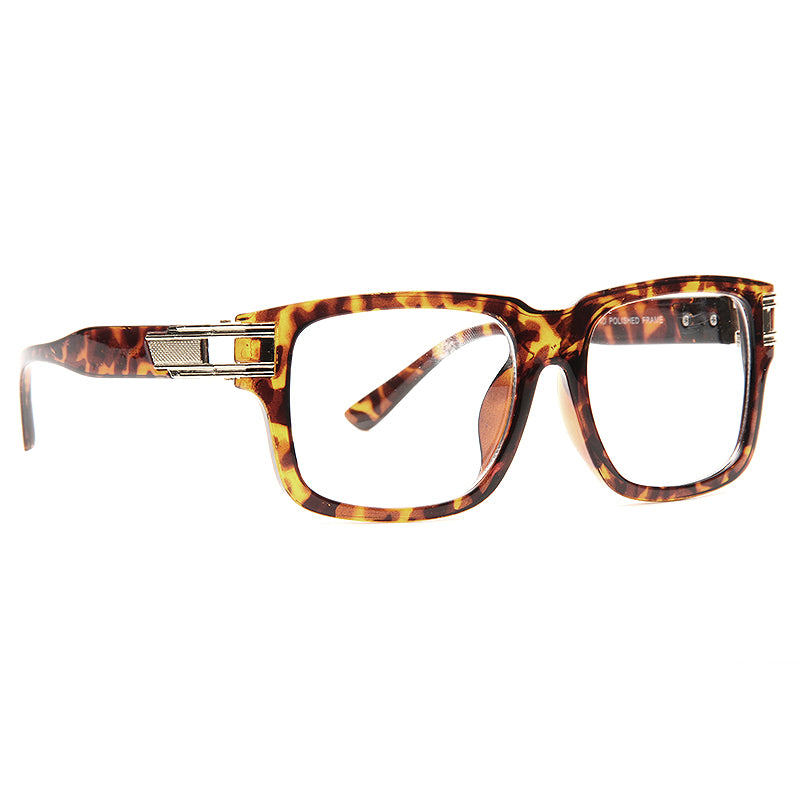 Harry 6 Oversized Squared Clear Glasses