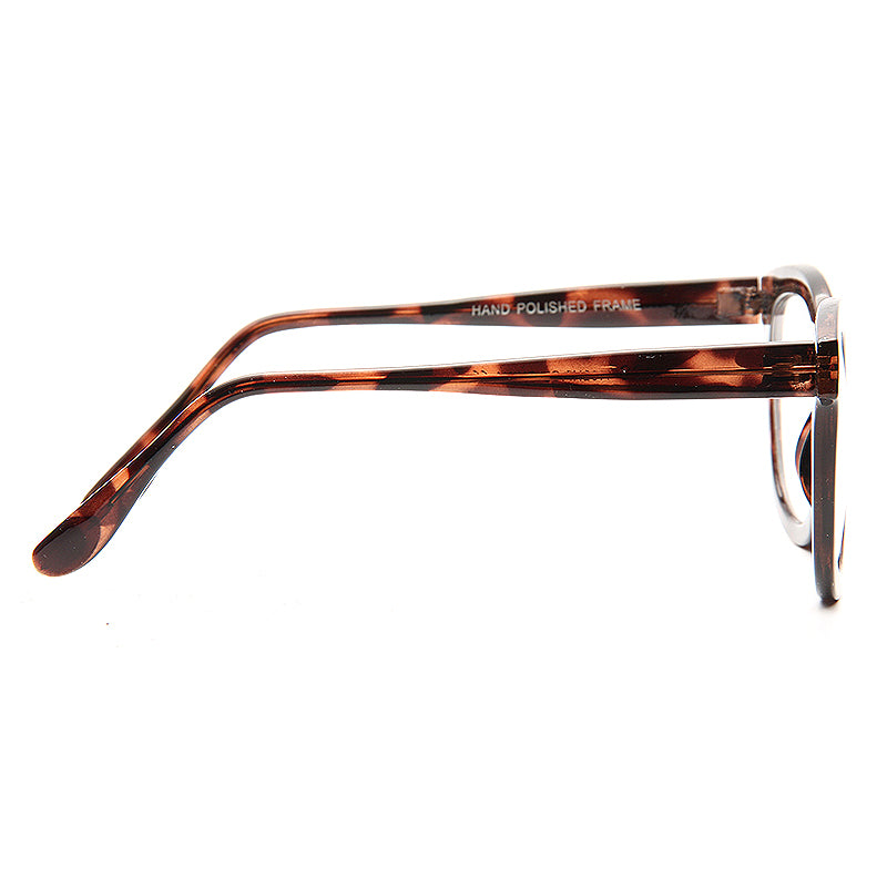 Niles Rounded Frame Clear Glasses