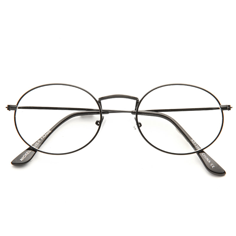 Elaine Benes Oval Clear Glasses