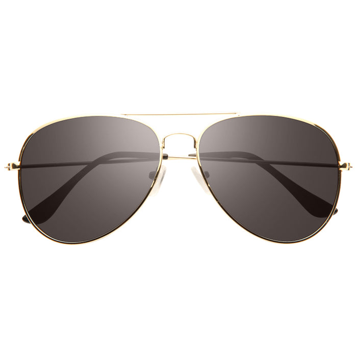 Classic 58mm G-15 Green Lens Polarized Aviator Sunglasses
