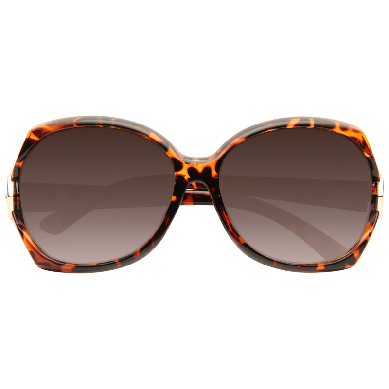 Riverdale Metal Accent Gradient Sunglasses