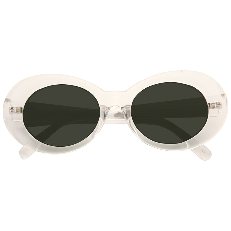 California 2 Designer Inspired 90s Round Sunglasses