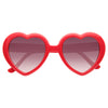 Paris Hilton Style Oversized Heart Celebrity Sunglasses