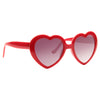 Holly Madison Style Plastic Heart Celebrity Sunglasses