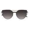 LovePunch Designer Inspired Flat Lens Gradient Sunglasses
