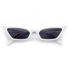 LeSkinny Designer Inspired 90s Cat Eye Sunglasses