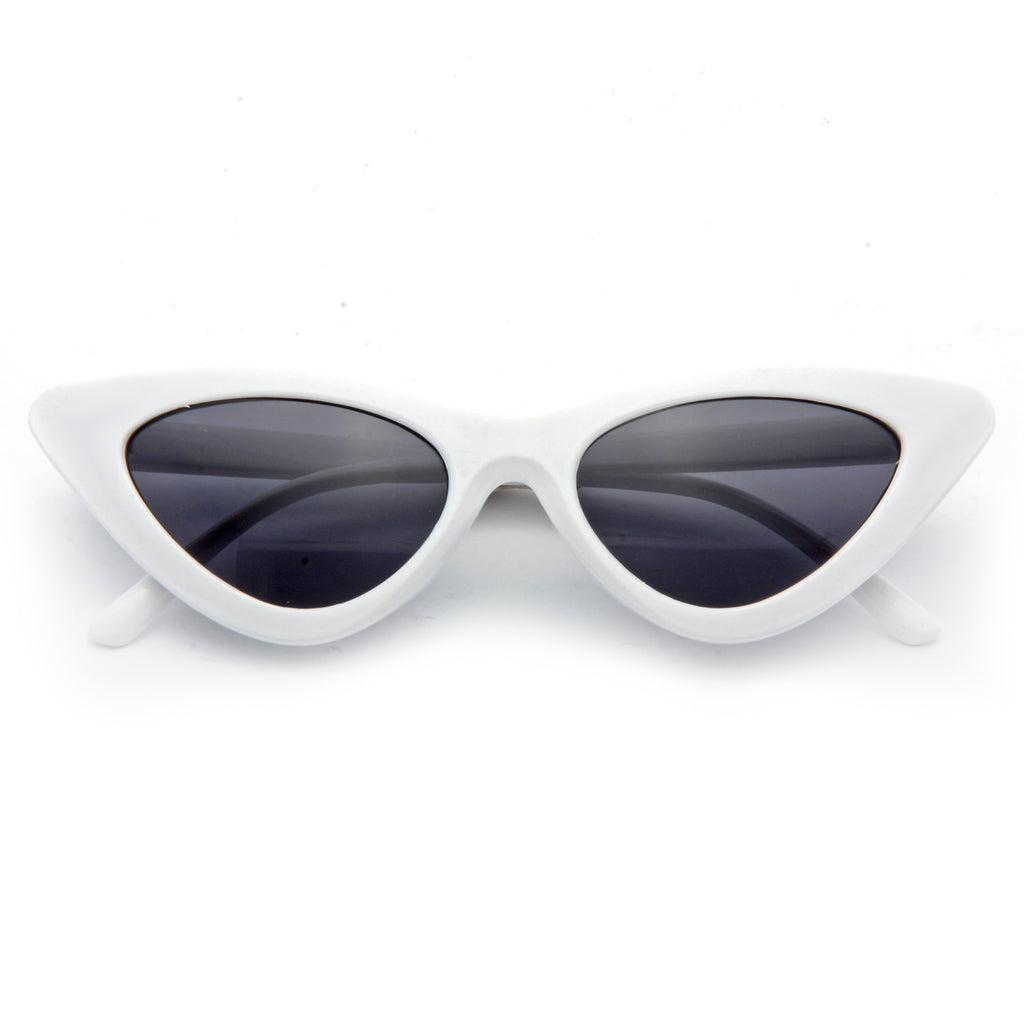 Lolita Designer Inspired 90s Cat Eye Sunglasses