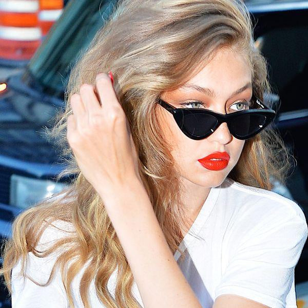 Gigi Hadid Style Cat Eye Celebrity Sunglasses