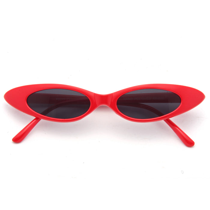 Abie Extreme Oval Cat Eye Sunglasses