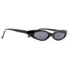 Abie Extreme Oval 90s Cat Eye Sunglasses