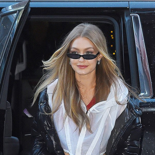 Gigi Hadid Style Extreme Oval 90s Cat Eye Celebrity Sunglasses