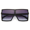 Blac Chyna Style Flat Top Celebrity Sunglasses