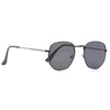 Hexagonal Designer Inspired Flat Lens Sunglasses