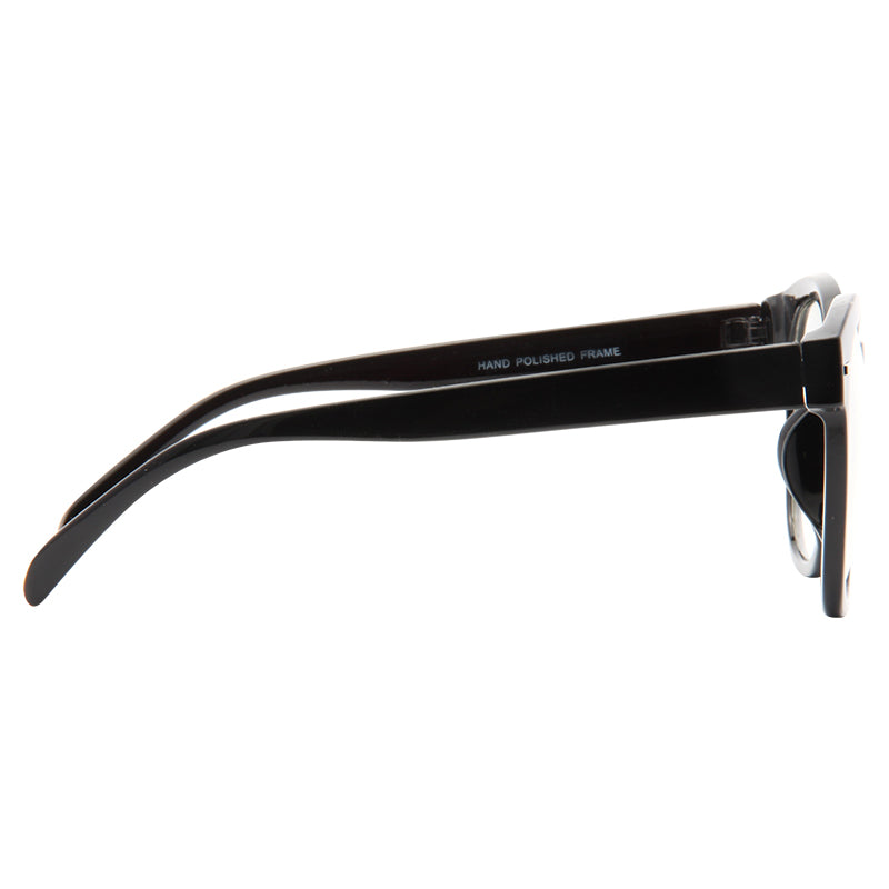 Graf Oversized Round Clear Glasses