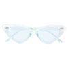 Lolita Designer Inspired Light Tint 90s Cat Eye Sunglasses