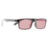 Tramore Slim Rectangular Color Tint 90s Sunglasses