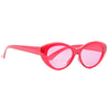 Heflin 90s Color Tint Cat Eye Sunglasses