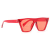 Edge Designer Inspired Sharp Point Transparent 90s Cat Eye Sunglasses
