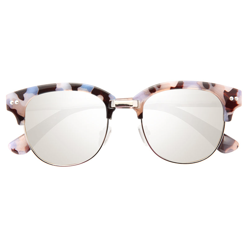 Duxbury Flat Lens Color Mirror Half Frame Sunglasses