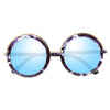 Westbrook Marbled Thick Round Sunglasses