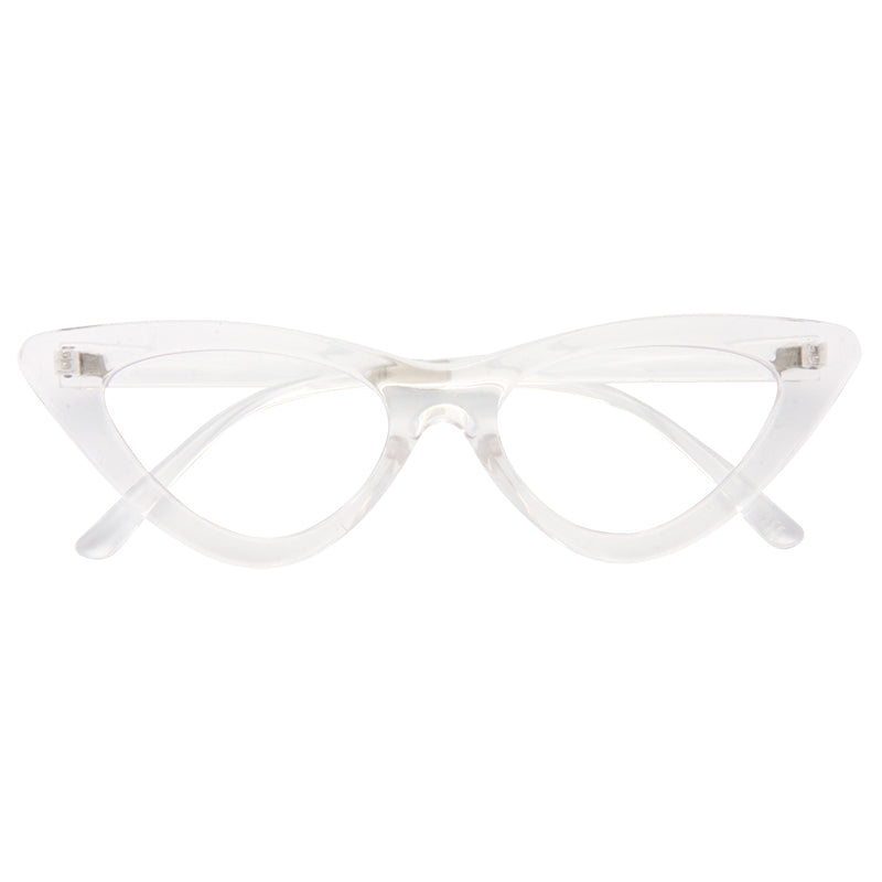 7fdacb8738 Lolita Designer Inspired 90s Cat Eye Clear Glasses – CosmicEyewear