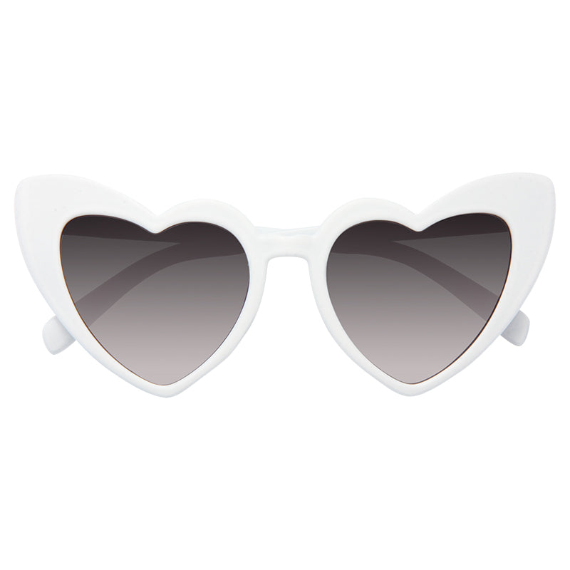 Paris Hilton Style Angled Heart Celebrity Sunglasses