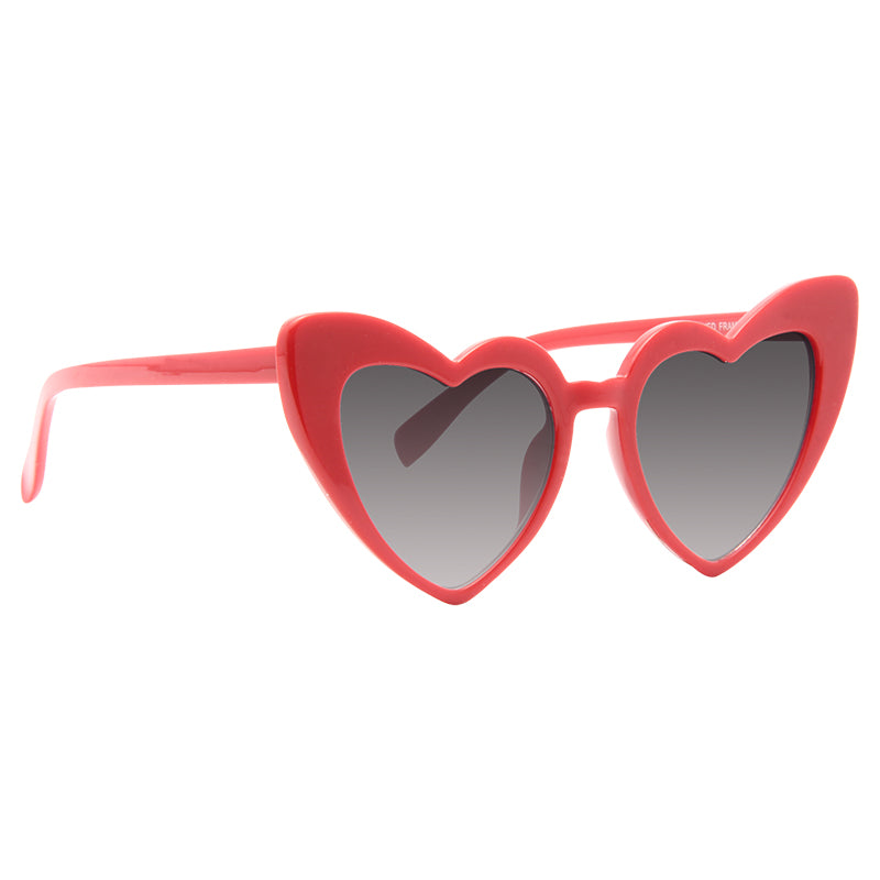 Christina Aguliera Style Angled Heart Celebrity Sunglasses
