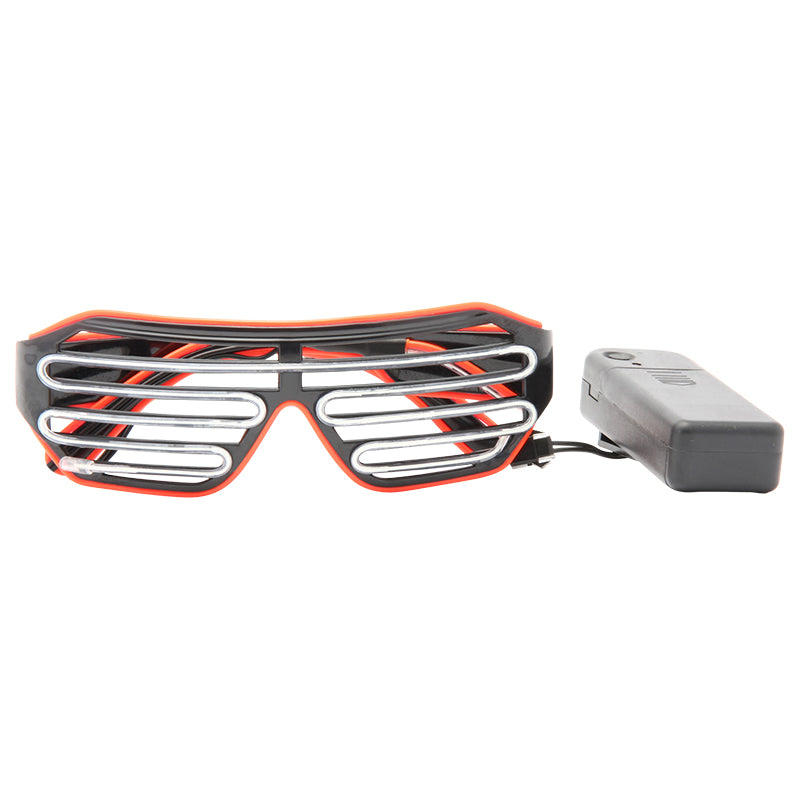LED Light Up Oversized Sunglasses