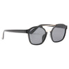 Abstract 2 Designer Inspired Flat Lens Color Mirror Sunglasses
