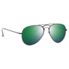 Luxe 58MM Color Mirror Aviator Sunglasses