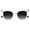 Iridia 3 Designer Inspired Cat Eye Sunglasses