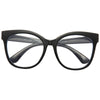 Babylon Clear Oversized Blue Light Blocking Glasses