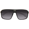 Elbert Unisex Plastic Vented Aviator Sunglasses