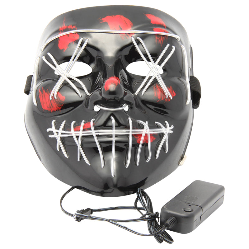 Purge Inspired LED Light Up Halloween Face Mask