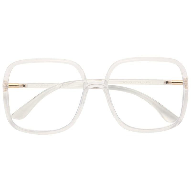 Hatch Square Blue Light Blocking Clear Glasses