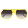Kids Two Toned Stripe Aviator Sunglasses