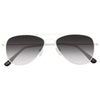 Kids 52mm Gradient Lens Aviator Sunglasses