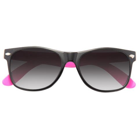 05a9007a915 Kids Two Toned Plastic Horn Rimmed Sunglasses