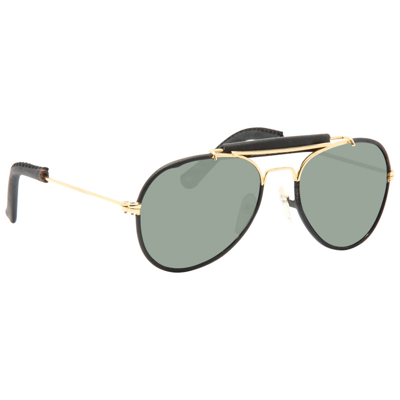 Kids Outdoorsman Classic 48MM Leather Trim Sunglasses