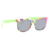 Kids Grafitti Horn Rimmed Sunglasses