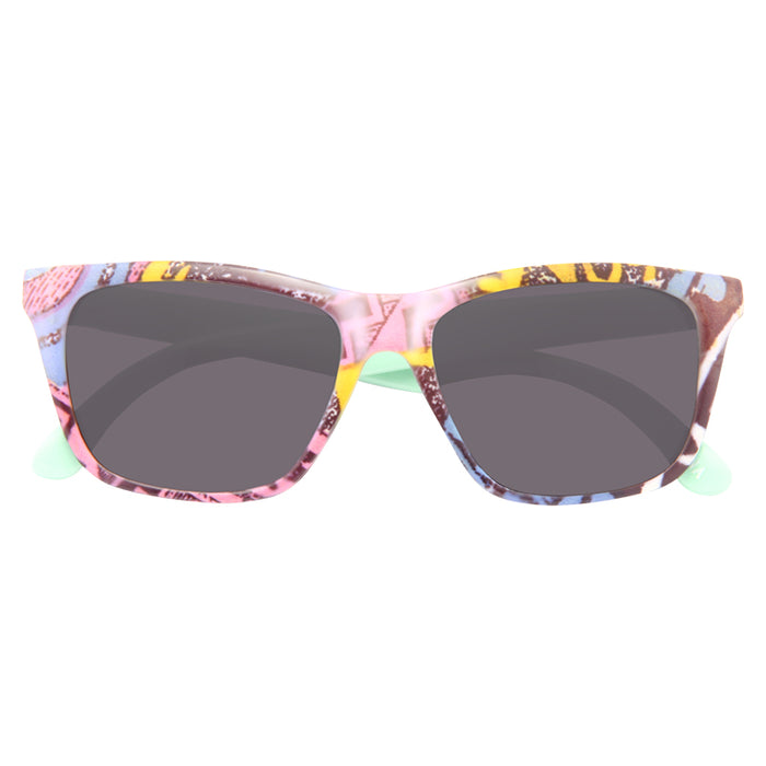 Kids Patterned Horn Rimmed Sunglasses