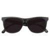 Kids Solid Frame Super Dark Horn Rimmed Sunglasses
