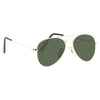 Kids Classic 46mm Solid Lens Aviator Sunglasses