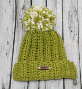 The Mimi Beanie in Cilantro