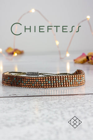 Chieftess - Copper and Turquoise