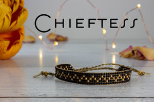 Chieftess - Black and Gold