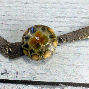 Cholla with Focal Lampworked Bead