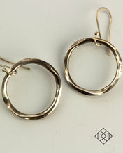 Round Dangle Hoop - the Eileen