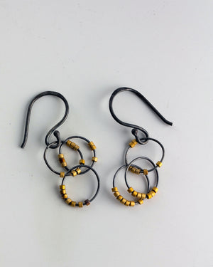 Cassandra Oro Earrings - Medium length