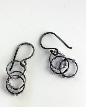 Cassandra Earrings - Medium length